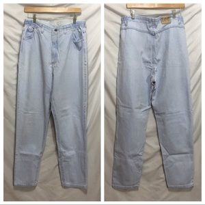 Vintage acid wash Mom jeans 16